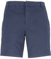 dondup cotton bermuda short