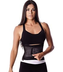 cinta abdominal modeladora e redutora k3 fitness preto