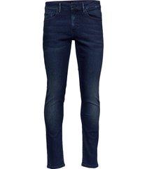 charleston bc slimmade jeans blå boss