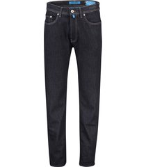 pierre cardin jeans lyon tapered fit donkerblauw