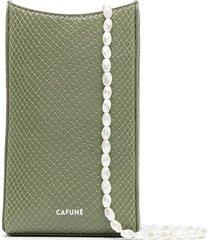 cafuné camber sling crossbody bag - green