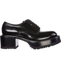 scarpe stringate classiche donna in pelle