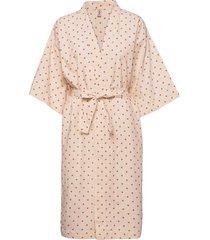 dot liberte kimono morgonrock rosa becksöndergaard