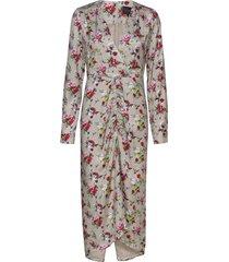 aria dress knälång klänning multi/mönstrad birgitte herskind
