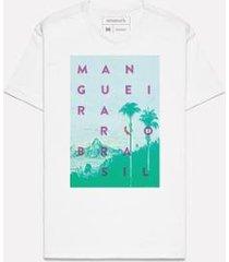 camiseta estampada brasil mangueira reserva - masculino