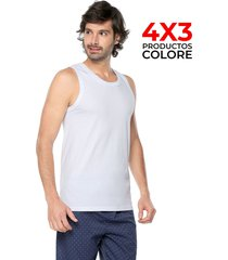 camiseta esqueleto interior blanco colore