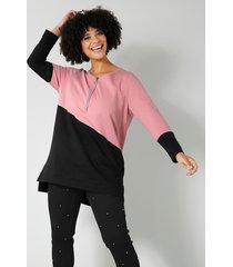 sweatshirt angel of style rozenhout::zwart