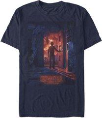 fifth sun men's stranger things will opening door poster short sleeve t-shirt