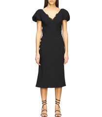 ermanno scervino dress ermanno scervino cady dress with lace details