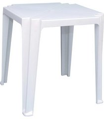 mesa plástica tramontina tambau, branca - 92314010