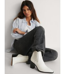 na-kd shoes boots - white