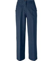pantaloni culotte con bottoni (blu) - bpc bonprix collection