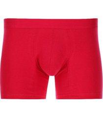 bóxer medio rojo color rosado, talla s