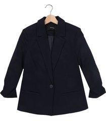 blazer azul oscuro vero moda