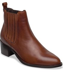 biacarol chelsea boot shoes boots ankle boots ankle boot - heel brun bianco