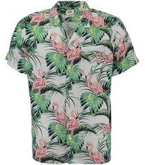 shirt cubano groen multi