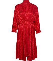 nelly jurk knielengte rood sofie schnoor