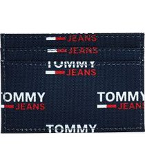 tommy hilfiger women's tommy jeans recycled card case print -