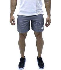 pantaloneta gris nike shorts