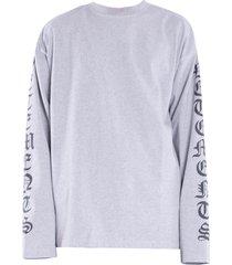 gothic font long sleeve t-shirt