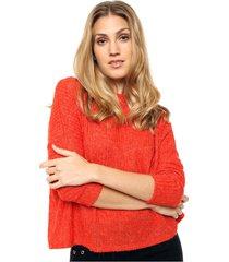 sweater naranja asterisco belona