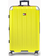 "tommy hilfiger women's 28"" spinner suitcase yellow -"