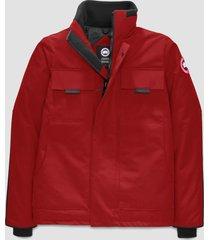 canada goose men's forester jacket - red - l