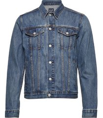 icon denim jacket jeansjacka denimjacka blå gap