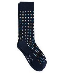 jos. a. bank textured dot socks, 1-pair