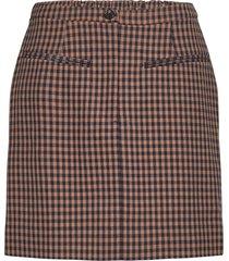 branley skirt kort kjol rosa second female