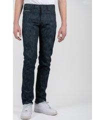 naked & famous denim super guy rick & morty collection - pickle rick solenya selvedge men's jeans