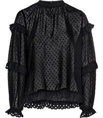 blus vidotella l/s top