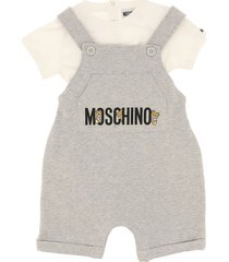 moschino t-shirt and salopette suit