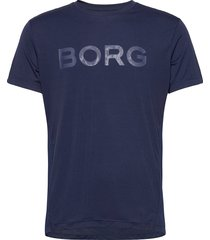 tee astor astor t-shirts short-sleeved blå björn borg