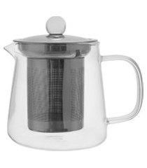 bule de chá com filtro fineline 450ml - home style