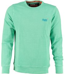 superdry sweater aqua green