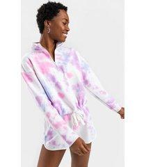 kori cotton candy tie-dye sweatshirt - pink