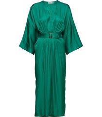 hattie dress jurk knielengte groen inwear