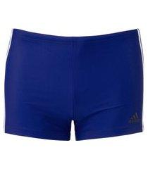 sunga boxer adidas fit 3 stripes swim - adulto