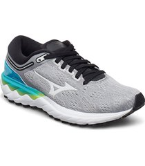 wave skyrise w shoes sport shoes running shoes grå mizuno