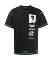united standard camiseta cyborg - preto