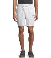 hurley men's beach icana french terry shorts - navy seersucker - size s