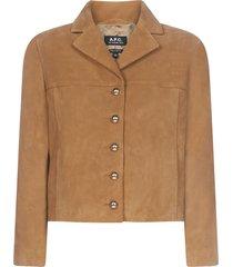 a.p.c. veste nico jacket