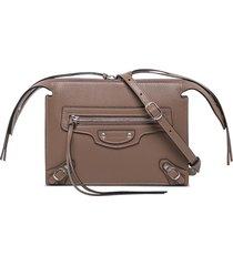 balenciaga neo classic multiple leather crossbody bag