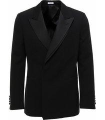 concealed fastening tuxedo blazer