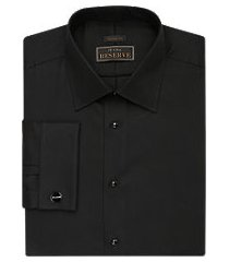 reserve collection tailored fit spread collar french cuff formal dress shirt - big & tall, by jos. a. bank