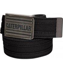 cinturon hombre cottonwood webbing belt grafito cat