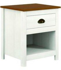 mesa cabeceira topázio finestra ref: 9100b branco