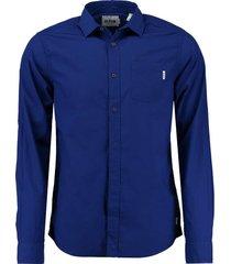 overhemd kobalt blauw