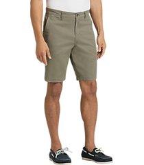 joseph abboud olive modern fit shorts